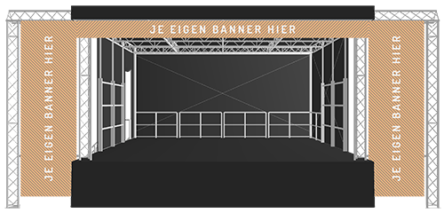 B-30&43 Stage Exporsure Package B | StageCompany Podium Huren