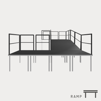 Stagedex-Ramp | StageCompany Podium Huren