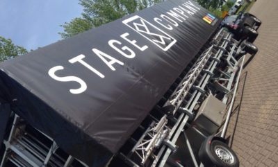02-BeletteringStages | StageCompany Podium Belettering