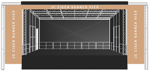 Stage 61 Stage Exporsure Package B | StageCompany Podium Huren